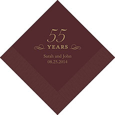 50th Anniversary Napkins
