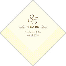 85th Anniversary Napkins