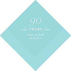 90th Anniversary Napkins