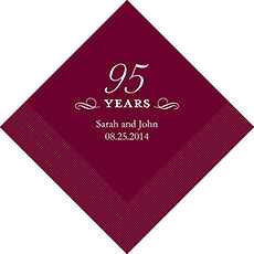 95th Anniversary Napkins