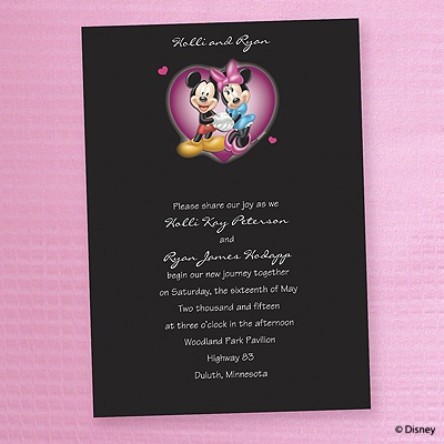 Mickey Mose Invitations